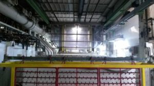 Activation of 3-meter galvanic line - Consonni trattamenti galvanici